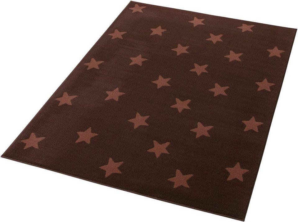 Teppich, Hanse Home, »Stars«, gewebt, Trendmotiv in Braun