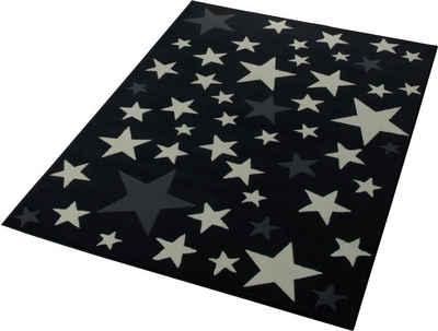 Kinderteppich Sterne Blau | harzite.com