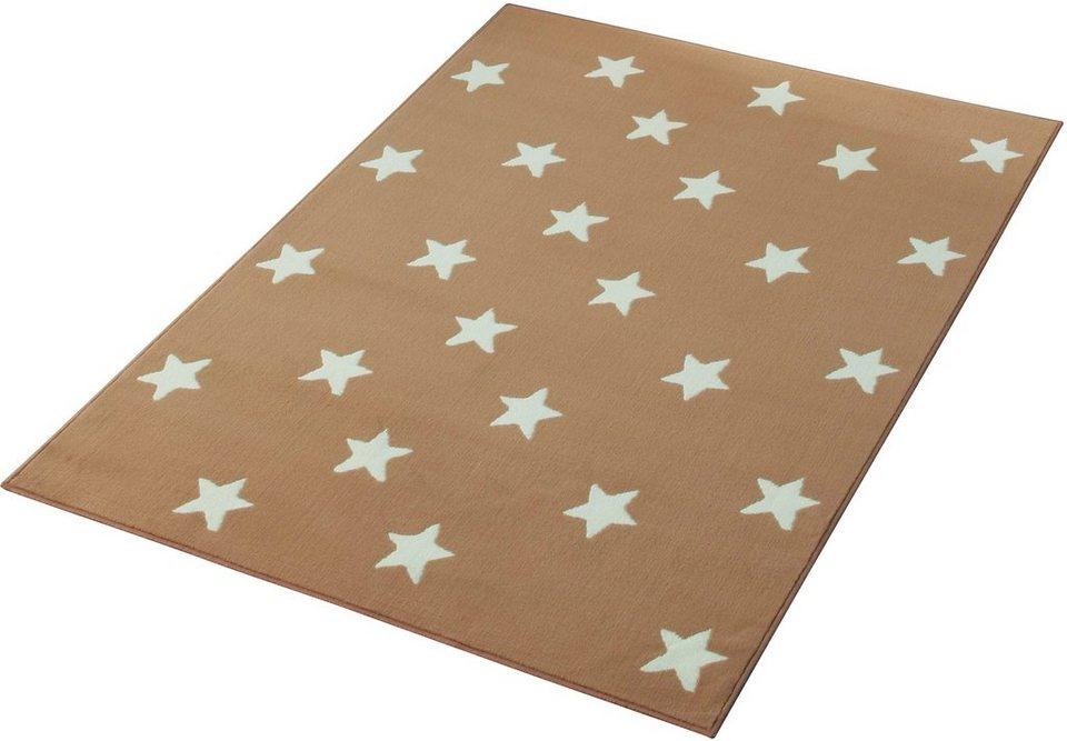 Teppich, Hanse Home, »Stars«, gewebt, Trendmotiv in Beige