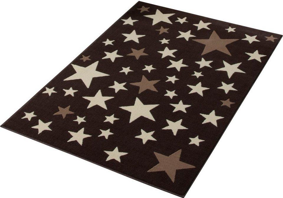 Teppich »Sterne«, Hanse Home, rechteckig, Höhe 9 mm, Trendmotiv in braun