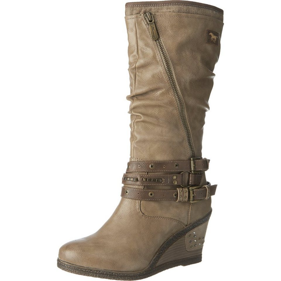 MUSTANG Stiefel in taupe
