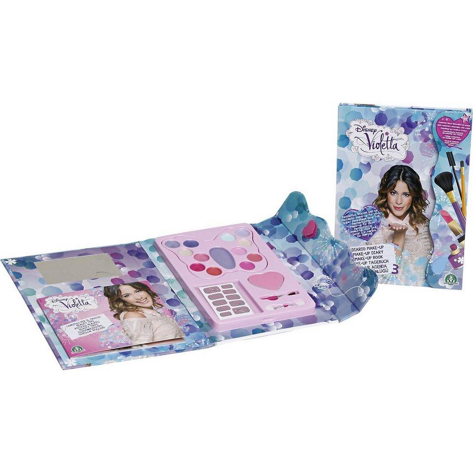 Giochi Preziosi Disney Violetta Make-up Tagebuch