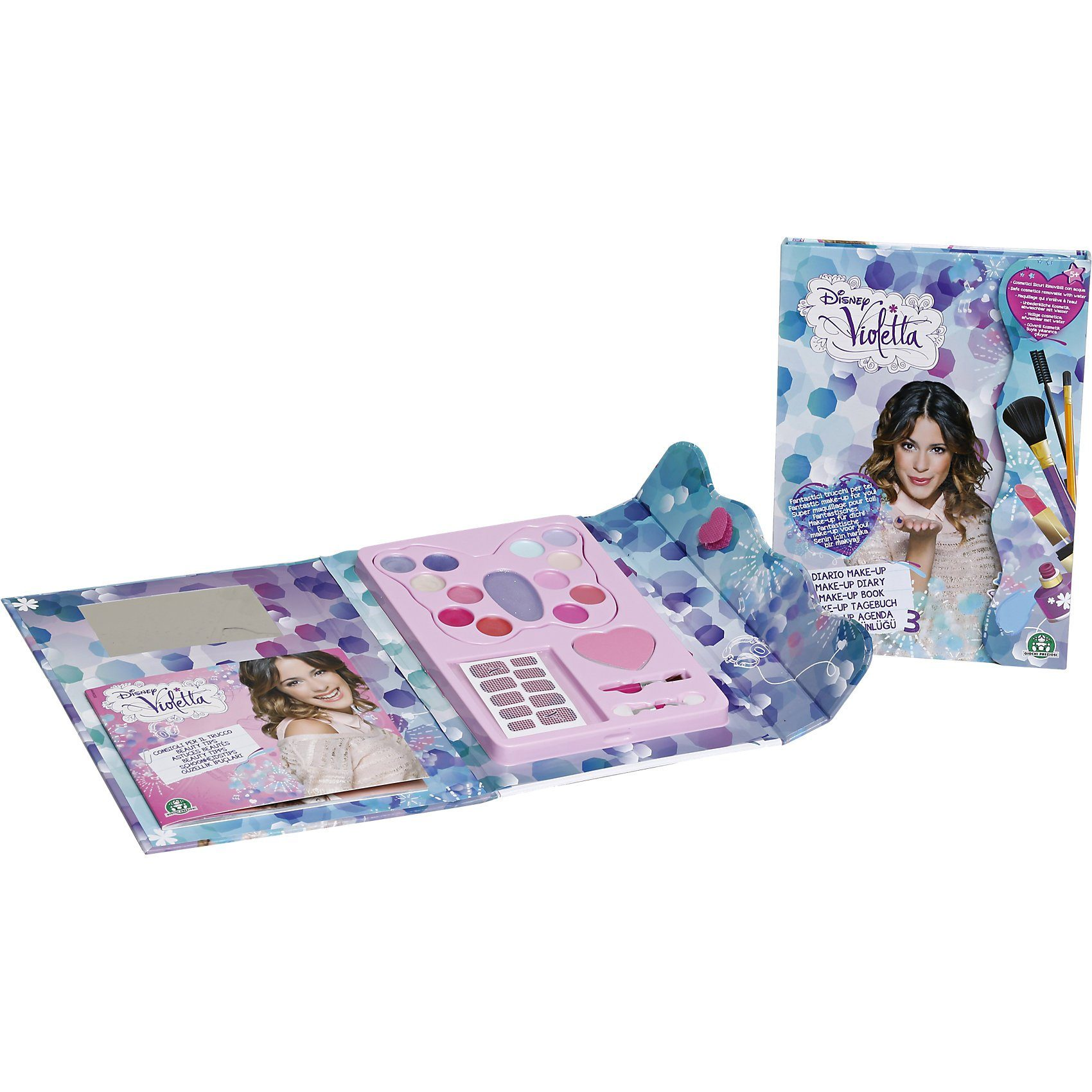 Giochi Preziosi Disney Violetta Make-up Tagebuch