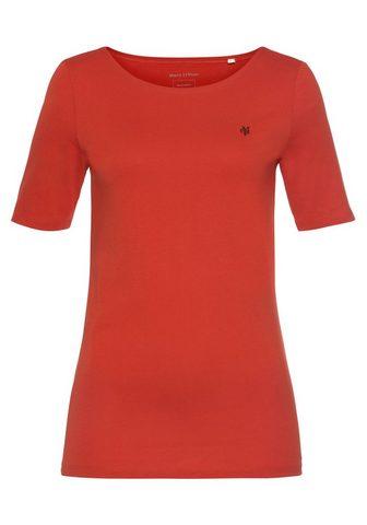 Marc O'Polo Marškinėliai su kuklus Logo-Detail vor...