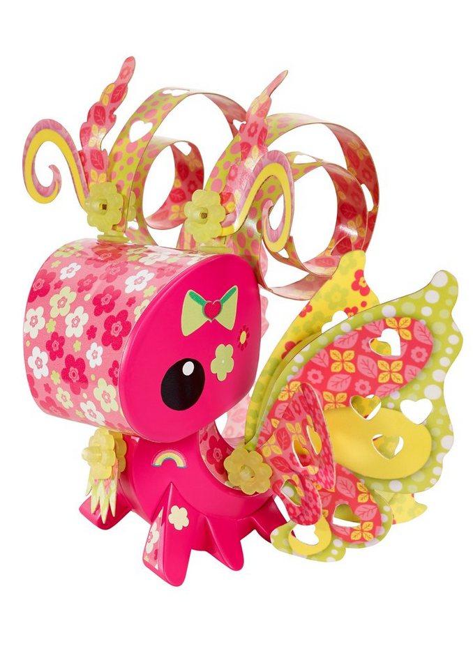 Mattel Bastel-Figur, »AmiGami Schmetterling + Herzlocher«