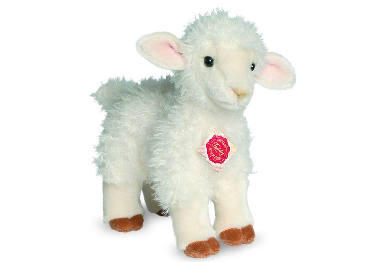 Teddy Hermann® COLLECTION Plüschtier Schaf, »Lamm stehend, 24 cm«