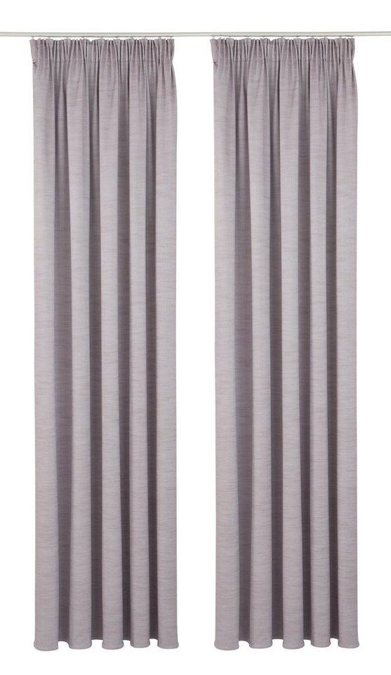 Vorhang, Premium collection by home affaire, »Siros« (2 Stück) in flieder