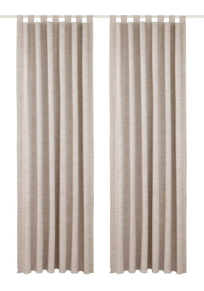 Vorhang, Premium collection by home affaire, »Siros« (2 Stück) in taupe