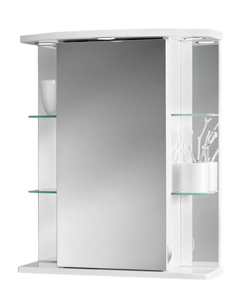 Spiegelschrank havana led breite 55 cm kaufen otto for Hochwertiger spiegelschrank bad