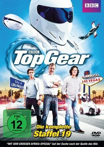 DVD »Top Gear - Die komplette Staffel 19 (2 Discs)«