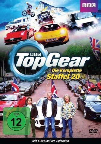 DVD »Top Gear - Die komplette Staffel 20 (2 Discs)«