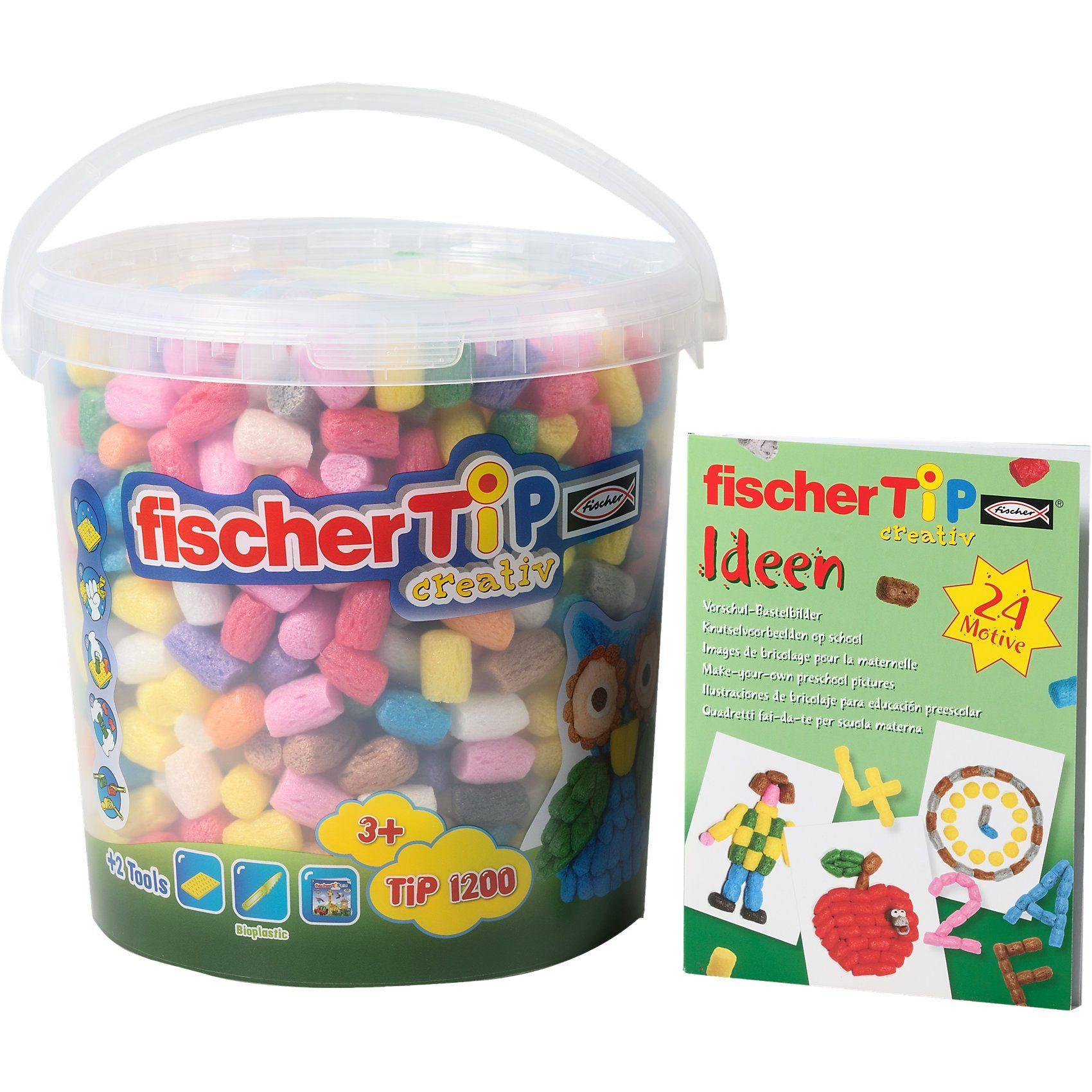 fischerTiP Superset, 1.200 TiPs & Ideenbuch