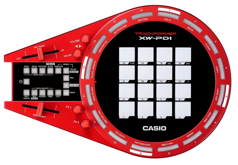 Casio Groove Center, »XW-PD1«