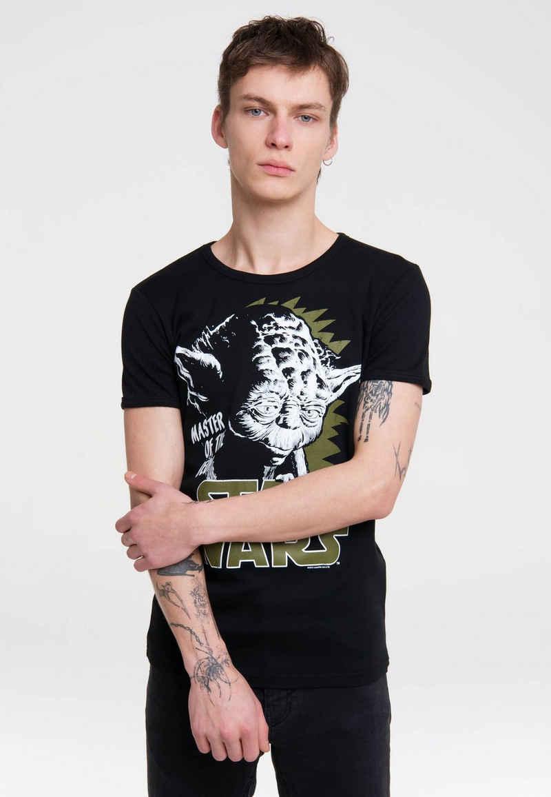 LOGOSHIRT T-Shirt »Yoda« mit coolem Printmotiv