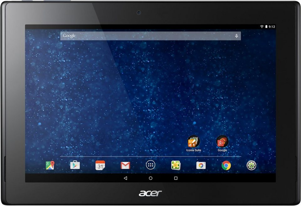 Acer Iconia Tab 10 (A3-A30) Tablet-PC, Android 5.0, Intel Atom Z3735F, 25,7 cm (10,1 Zoll) in schwarz