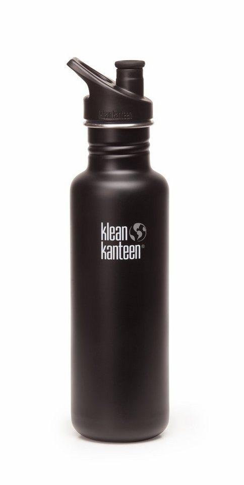 Klean Kanteen Trinkflasche »Classic Trinkflasche mit Sport Cap 800ml«