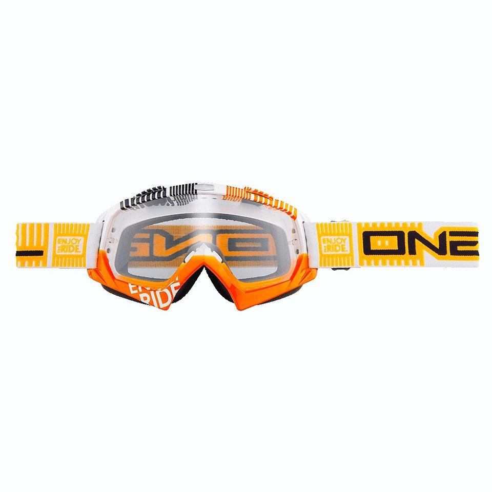 O'NEAL Radsportbrille »B-Flex ETR Goggle« in orange