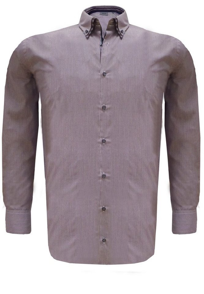 greyes Businesshemd in Violett