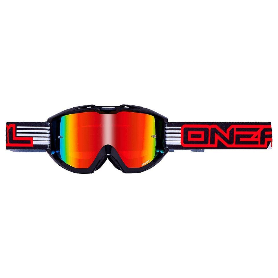 O'NEAL Radsportbrille »B1 RL Flat Goggle« in schwarz