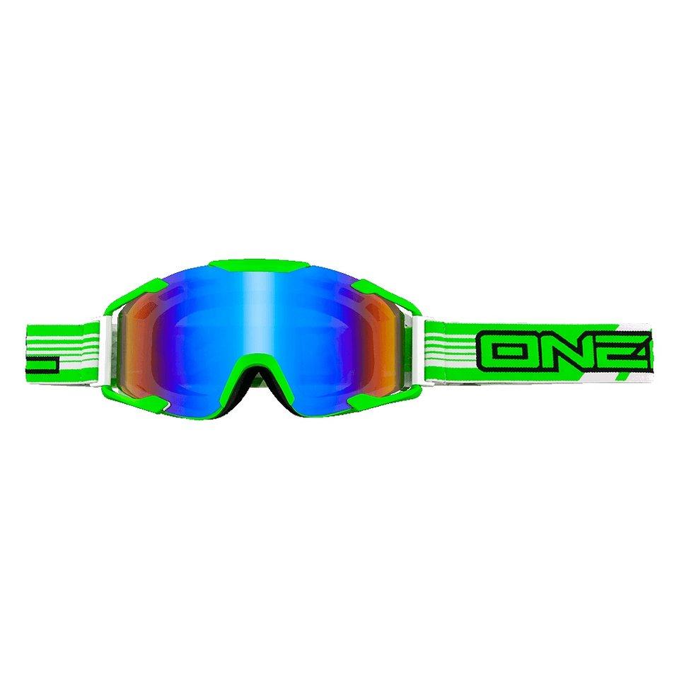 O'NEAL Radsportbrille »B2 RL Threesixzero Goggle« in grün