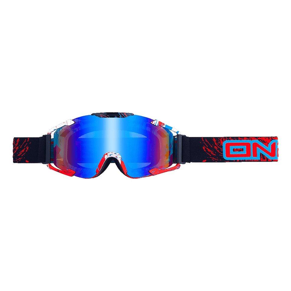 O'NEAL Radsportbrille »B2 RL Spray Goggle« in schwarz