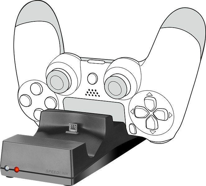 SPEEDLINK Ladestation »JAZZ USB Charger - für PS4«