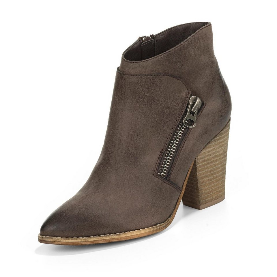 Buffalo Stiefelette in taupe