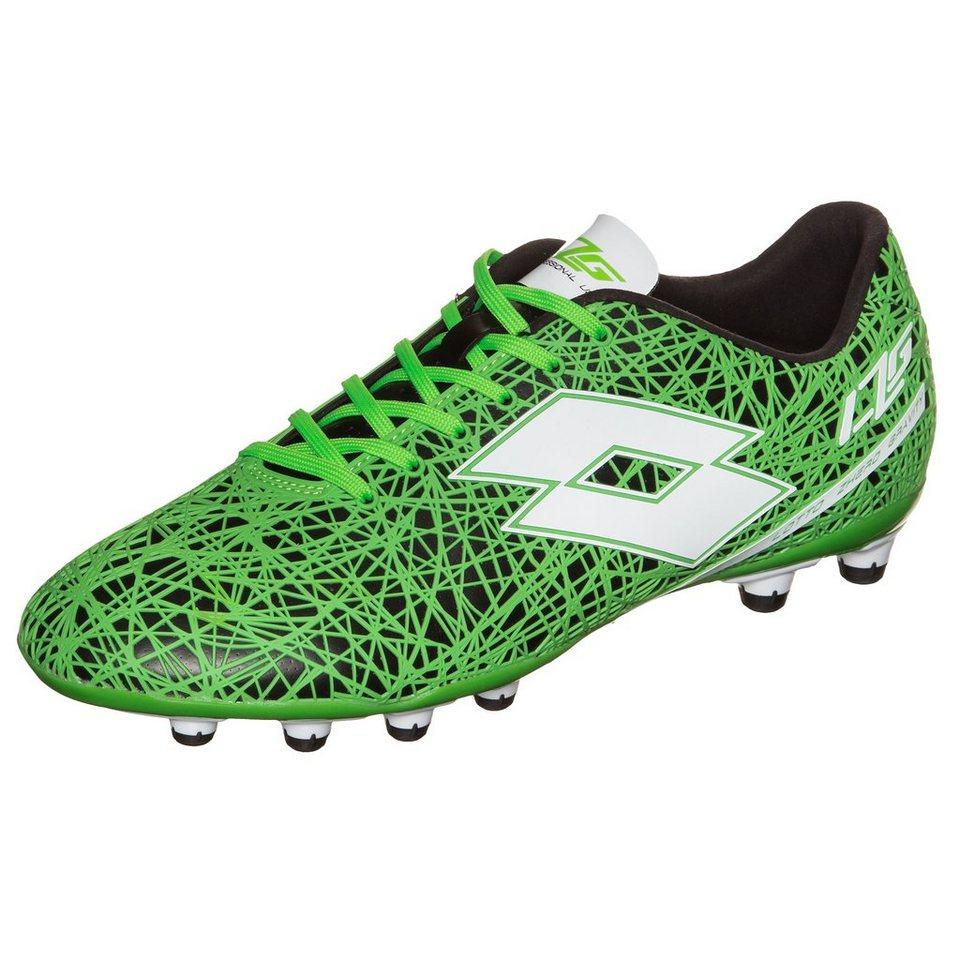 LOTTO Zhero Gravity VII 200 FG Fußballschuh Herren in grün / schwarz