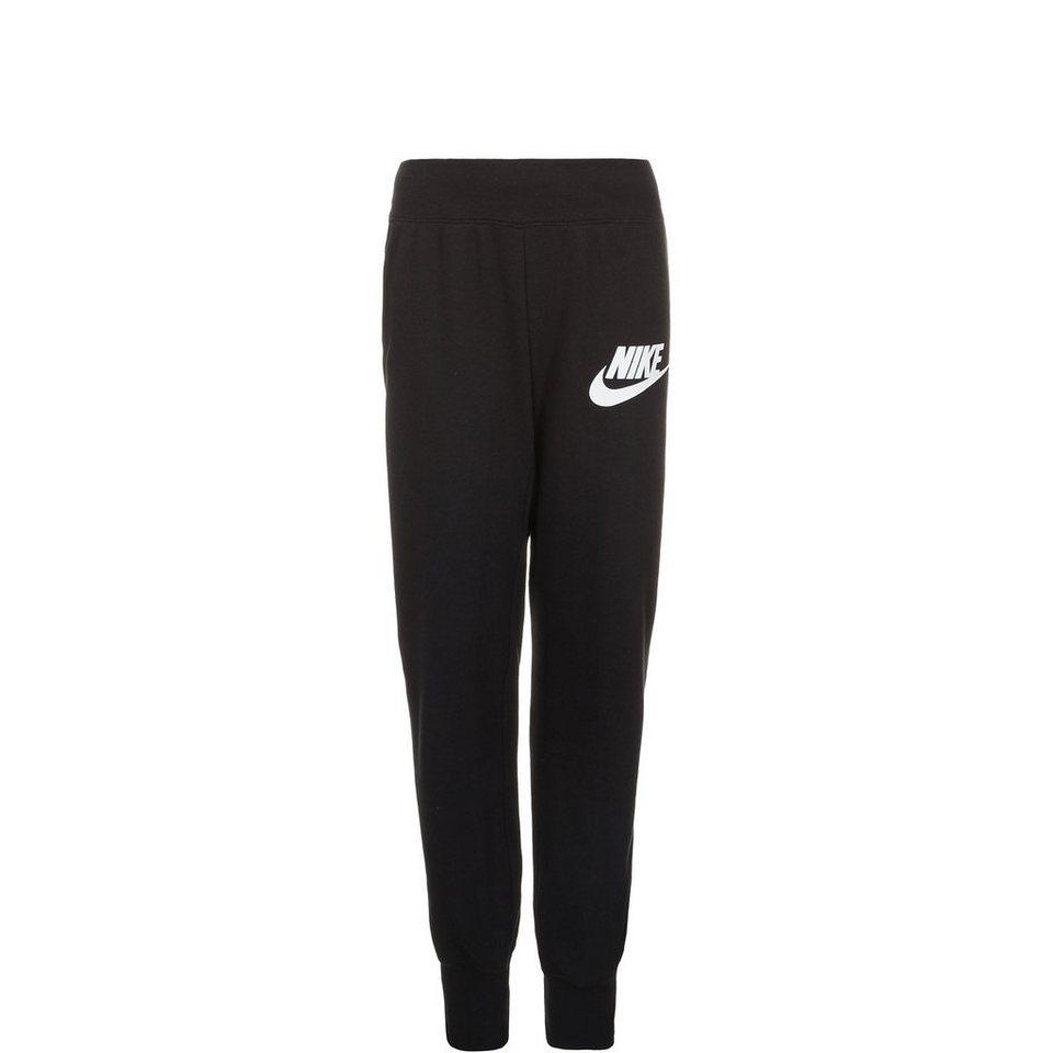 Nike Sportswear N40 Semi-Brushed Franchise Trainingshose Kinder in schwarz / weiß