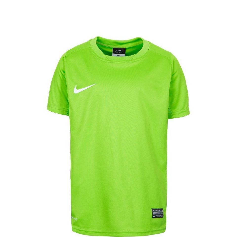 NIKE Park V Fußballtrikot Kinder in grün / weiß