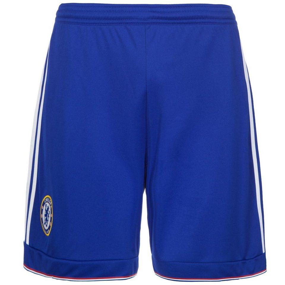 adidas Performance FC Chelsea Short Home 2015/2016 Herren in blau / weiß