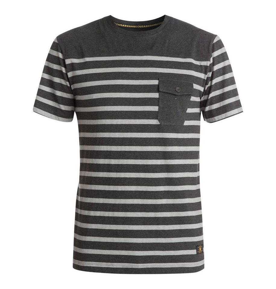 DC Shoes Zweifarbiges T-Shirt »Stanwood« in Pirate black