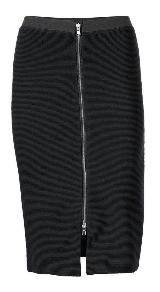 Strickrock in schwarz