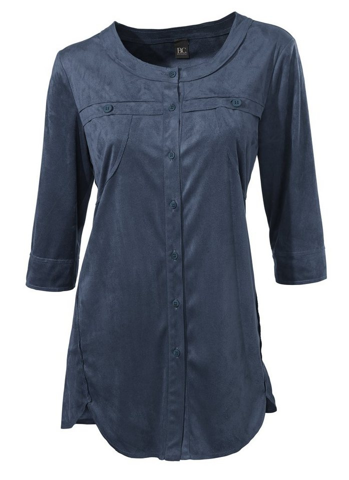 Shirtbluse in blau