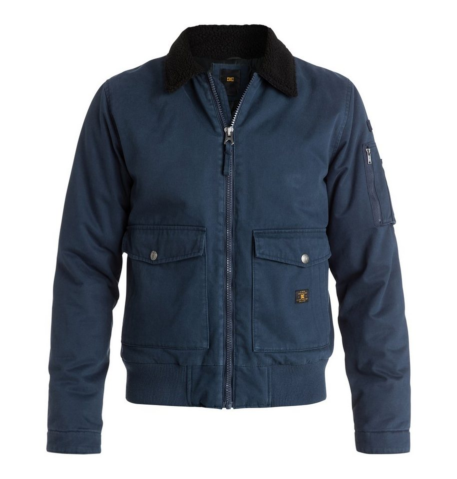 DC Shoes Fliegerjacke »Arhus« in Blue iris