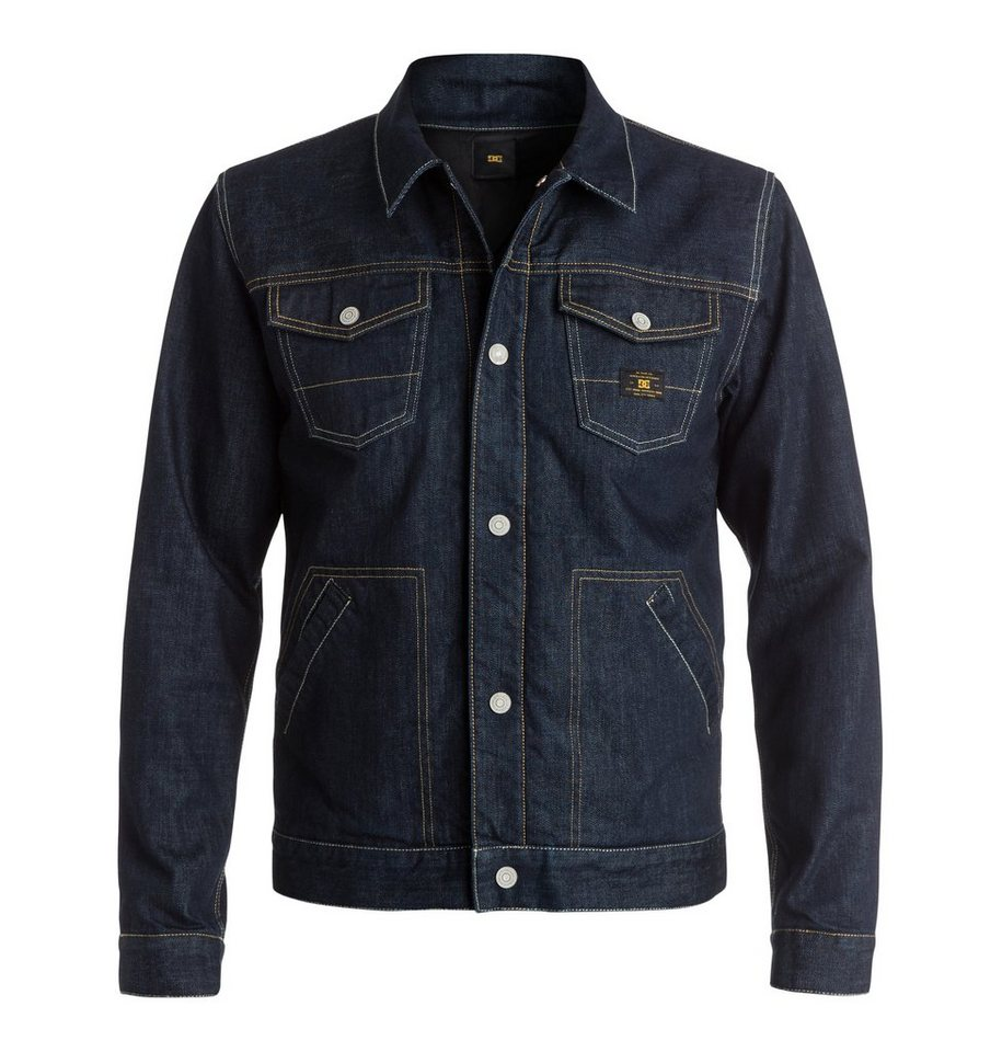 DC Shoes jeanjacke »Dc Lined« in Indigo rinse
