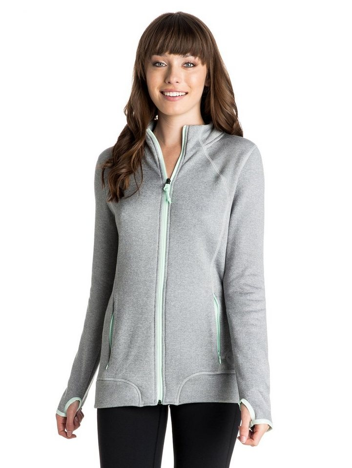 Roxy Langärmelige Zip-Jacke »Iced Out« in Heritage heather