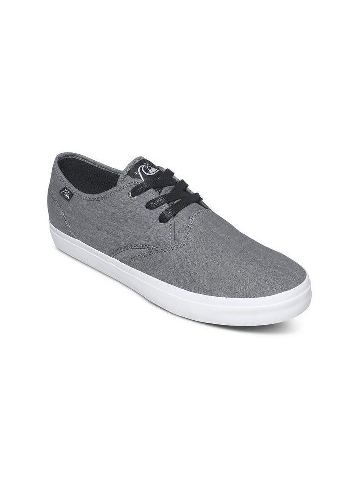 Quiksilver Canvas Schnürschuhe »Shorebreak« in Grey / grey / white