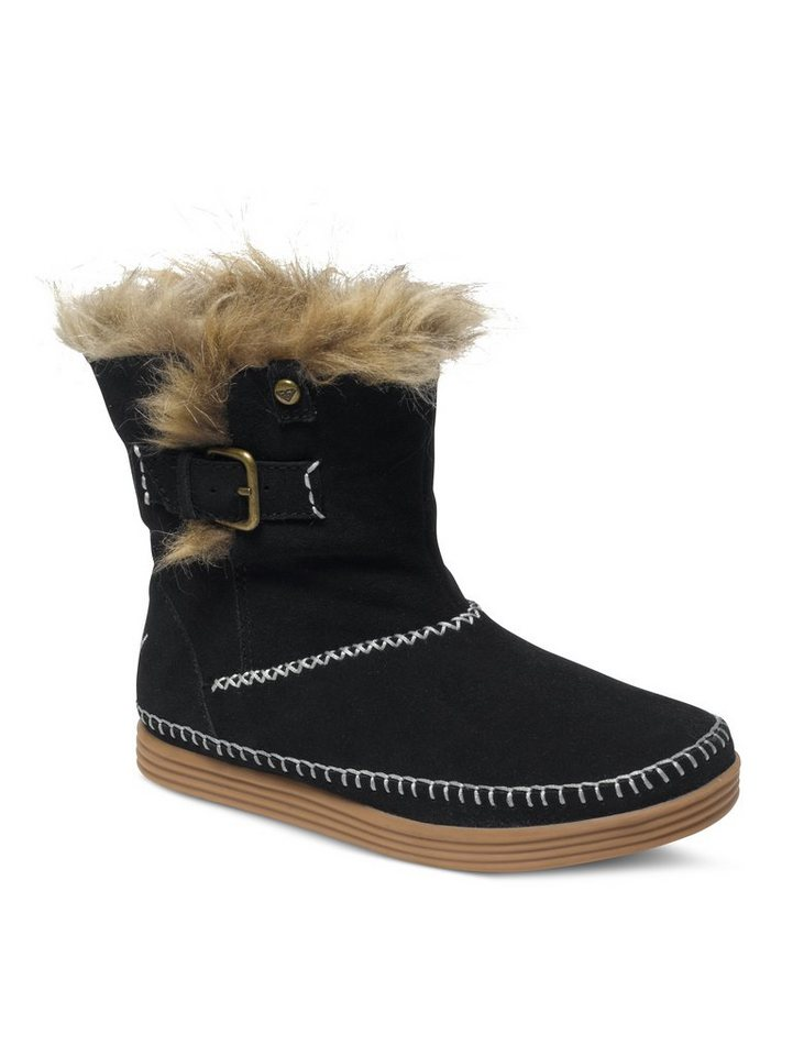 Roxy Wildleder Stiefel »Ashley« in Black