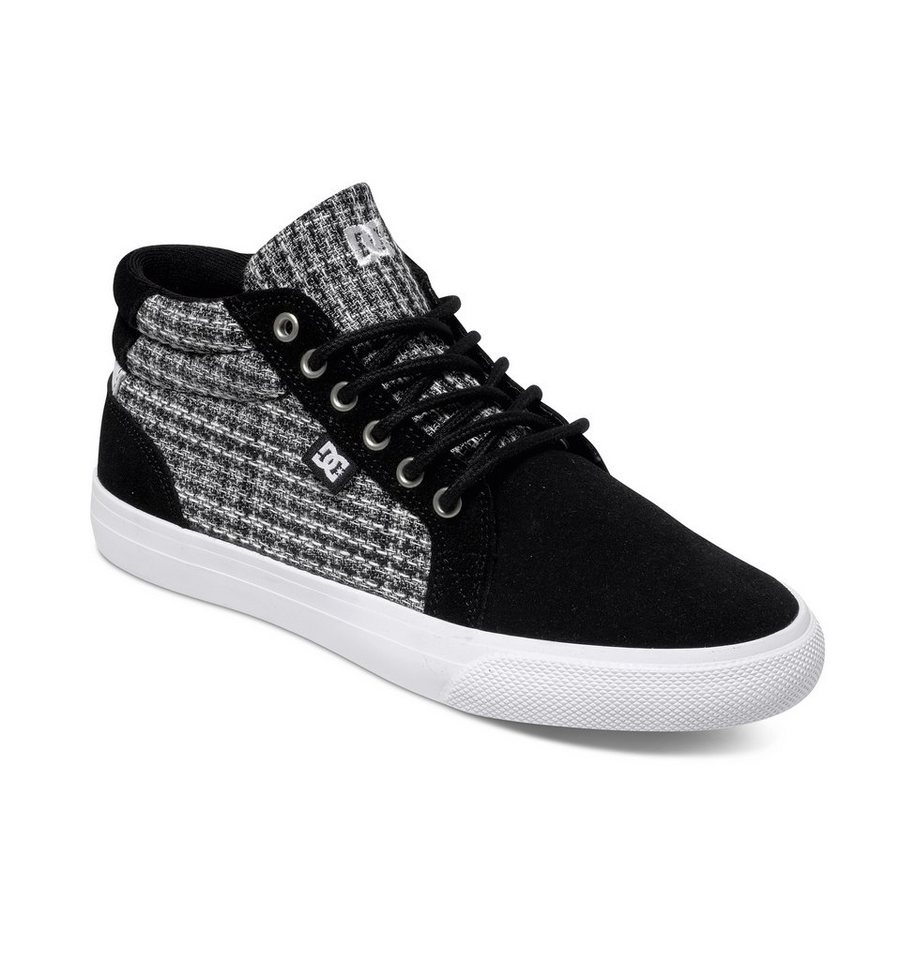 DC Shoes Mid Shoe »Council Mid Suede« in Black / white / grey