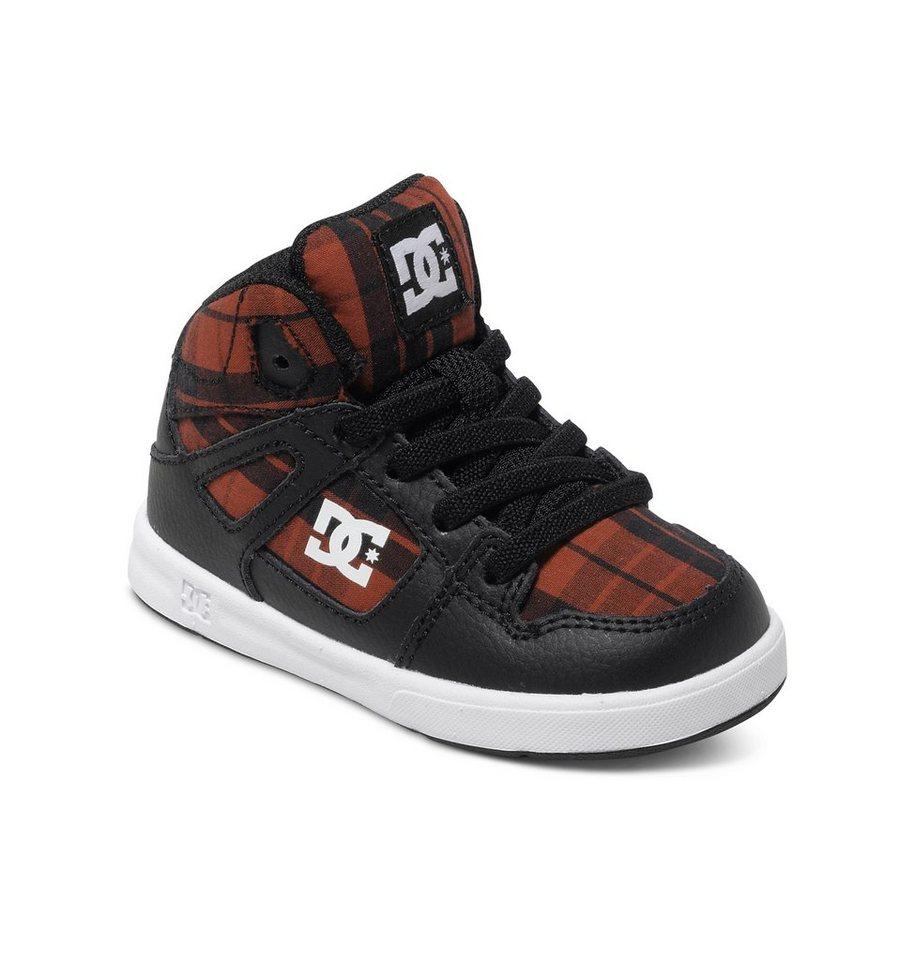 DC Shoes Hi-top »Rebound SE UL« in Black / red plaid