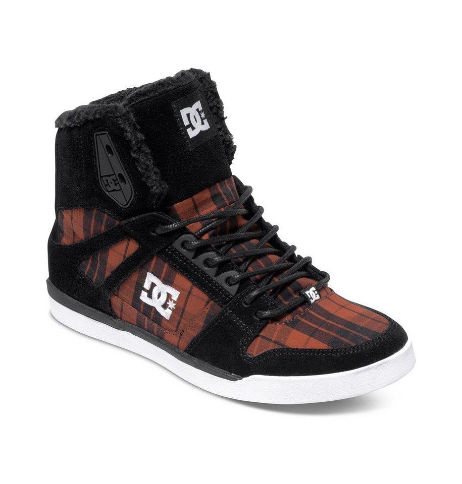 DC Shoes High-top »Rebound Slim Wnt« in Black plaid