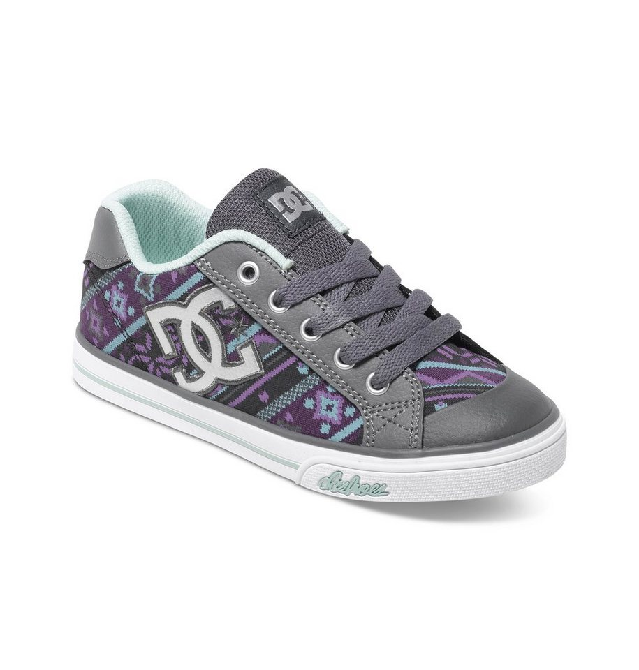 DC Shoes Low top »Chelsea Graffik« in Armor / purple