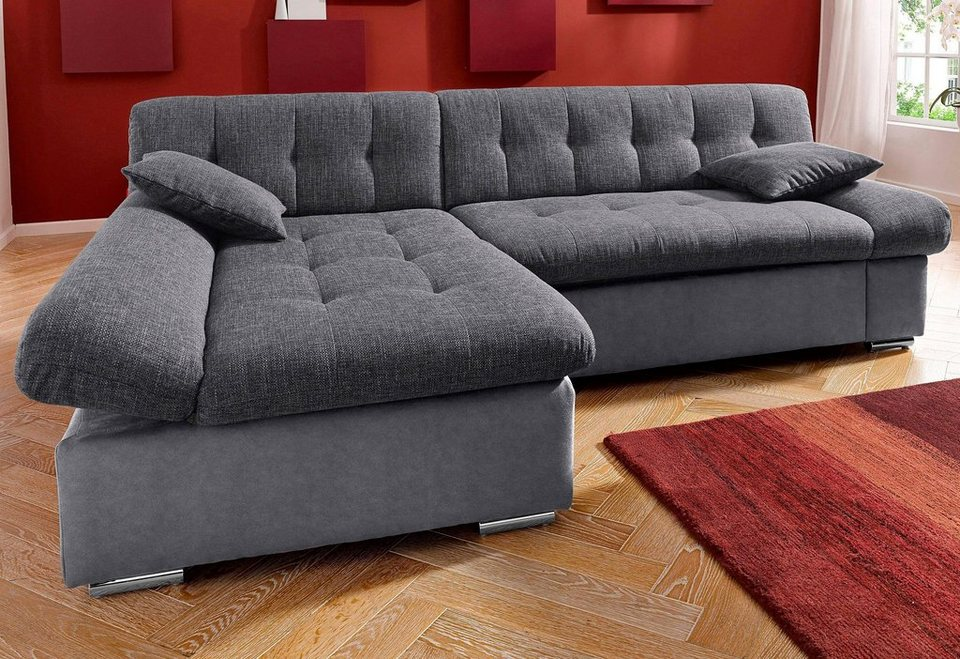 polsterecke wahlweise mit bettfunktion kaufen otto. Black Bedroom Furniture Sets. Home Design Ideas