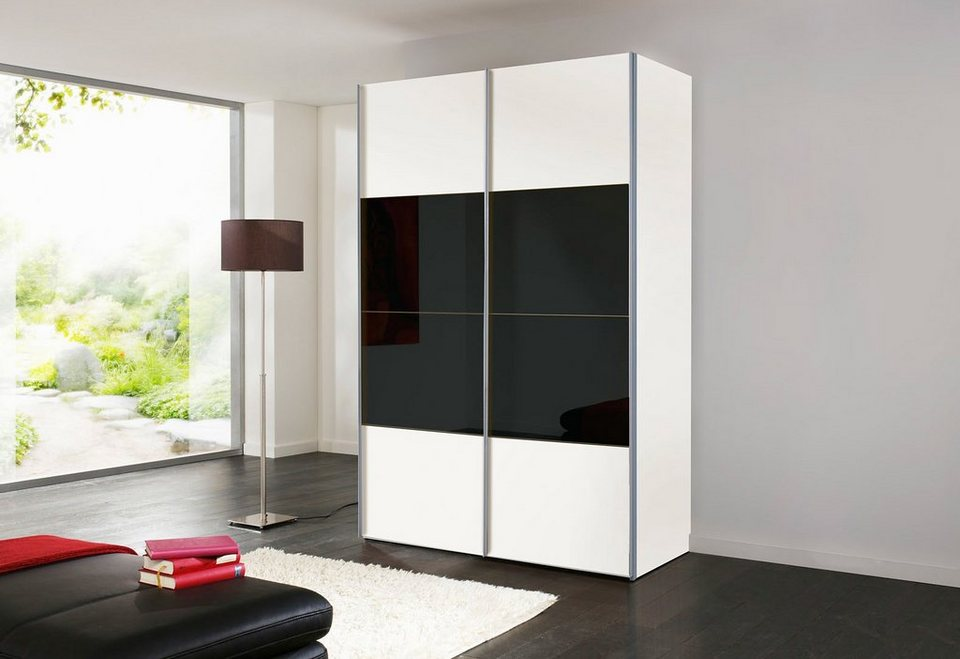 schwebet renschrank schwarz wei. Black Bedroom Furniture Sets. Home Design Ideas