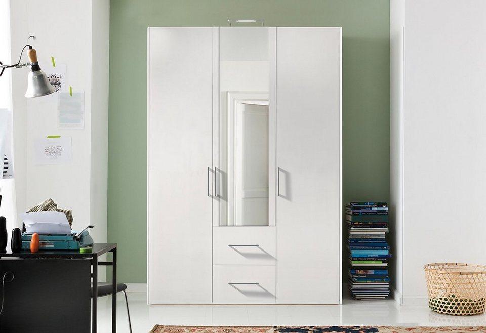 Express Solutions Kleiderschrank in weiß