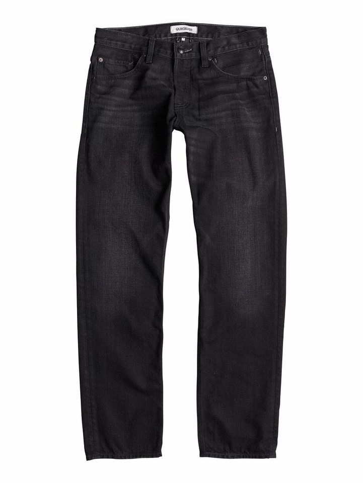 Quiksilver Regular Fit jean »Sequel Black Rinse 34« in Black rinse