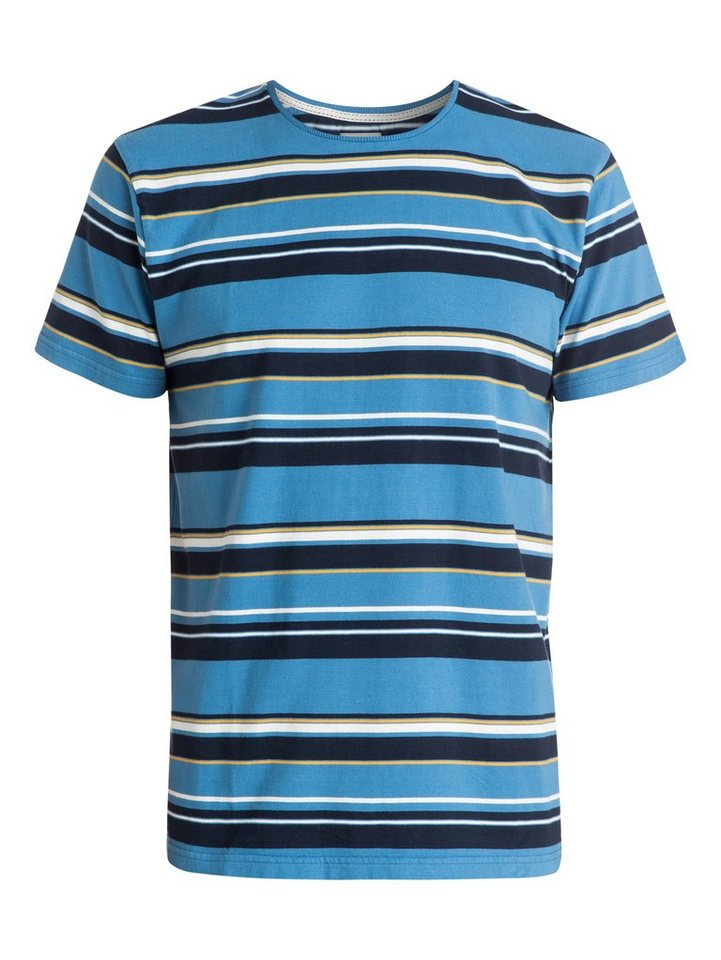 Quiksilver T-Shirt »Decay Stripe« in Federal blue