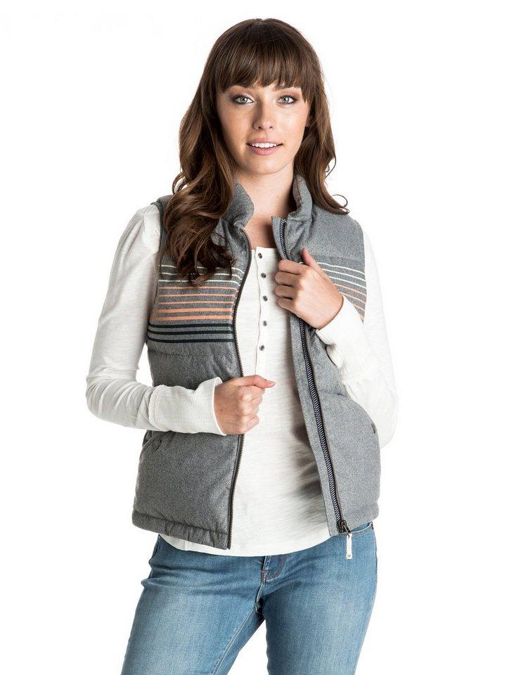 Roxy Gepolsterte Weste »Freedom Stripe« in Charcoal heather
