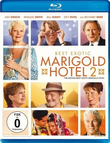Blu-ray »Best Exotic Marigold Hotel 2«
